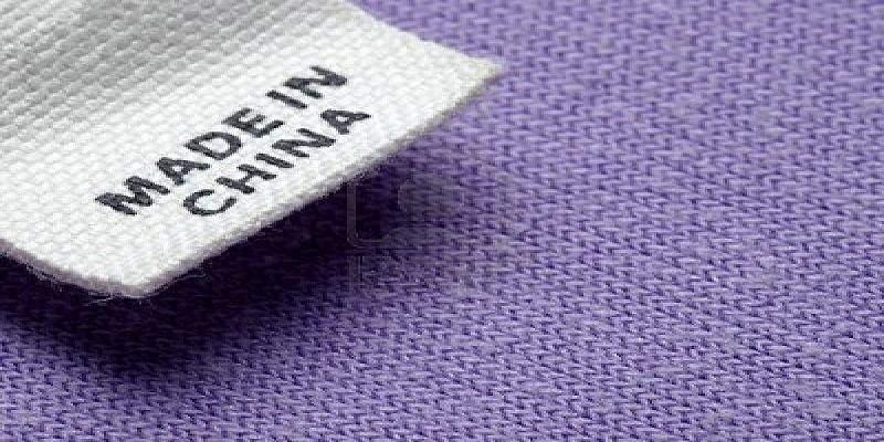 productos fabricados en china